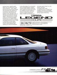 my 89 honda legend coupe v6 2 7i 24 valve honda pinterest rh pinterest com Honda Legend 1996 1986 Honda Legend