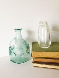 VINTAGE BOTTLES for DECOR old bottles for by AnnmarieFamilyTree