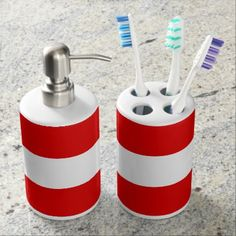 Austria Soap Dispenser And Toothbrush Holder - home gifts ideas decor special unique custom individual customized individualized