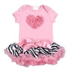This tutu set is the perfect way to show some Valentines Day L<3VE!!