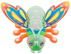 TECHEGE Toys BumpnGo Happy Bee  Beautiful Lights  Fun Music  Great for Kids  Stinger Free ** See this great product.