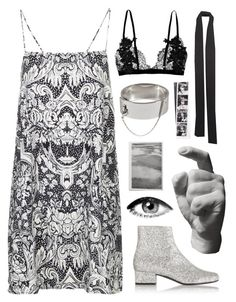 """Untitled #997"" by mywayoflife ❤ liked on Polyvore featuring Yves Saint Laurent, Motel, Harry Allen, ASOS and Eddie Borgo"