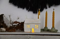 junkaholique: tiny clay houses