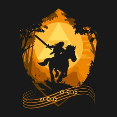 Check out this awesome 'Epona%C2%B4s+Song' design on TeePublic! http://bit.ly/1CMOhW0