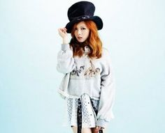 4minute's HyunA is chic and casual for 'FAST' Magazine