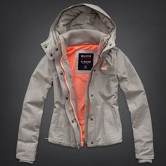 Hollister All-Weather Jacket. I really enjoy all of their jackets