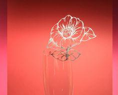 Ornabicchiere fiore