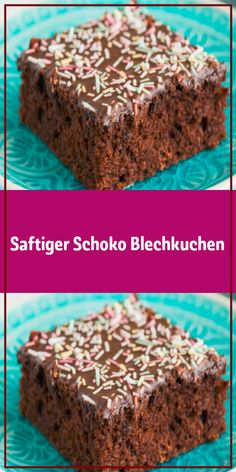 Juicy chocolate sheet cake - This quick chocolate cake is not only a real all-rounder but also the best chocolate sheet cake for - Quick Chocolate Cake, Best Chocolate, Easy Cake Recipes, Sweet Recipes, Cookie Recipes, Cream Pie Recipes, New Cake, Recipe For 4, Food Cakes