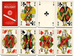 Playing cards manufactured by Van Genechten for the Estanco de Naipes del Peru, c.1965