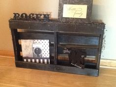 Cute idea to do when using a old pallet