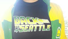 """"""" Back to Seattle """" trying to help bring the sonics Back to Seattle  Inspired by the Seattle Supersonics / Sonics $19.99"""
