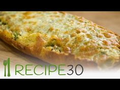Garlic Bread Italian – Easy Meals with Video Recipes by Chef Joel Mielle – RECIPE30