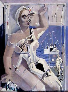 Salvador Dalí - Depart. Homage to Fox Newsreel, 1926.
