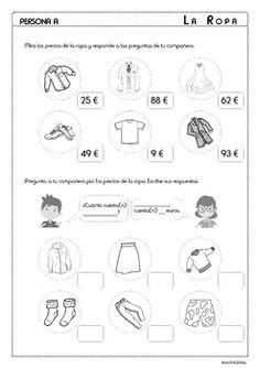 Los colores y la ropa for Spanish III. This activity