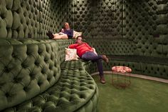Google London Offices by PENSON (5) - the padded room for the office...