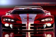 Dodge Viper... hmm... I think this will be a great mid-life crisis car!^_^