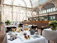 the 19th-century, glass-vaulted Paul Hamlyn Hall is easily the grandest afternoon tea setting in London.