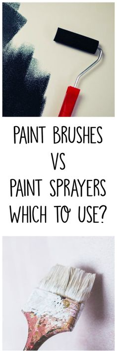 Paint Sprayers vs. Traditional Brush and Roller Painting - Crafty Little Gnome #painting #diy #paintsprayer #homedecor #homerenovations #