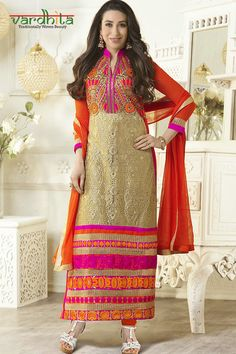 0d807c3b80 9 best Karishma Kapoor - Long Salwar suit collection images in 2014 |  Anarkali suits, Churidar suits, Designer salwar suits