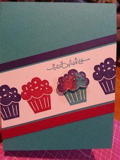 Bday cupcakes