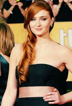 Sophie Turner at the 20th annual SAG Awards