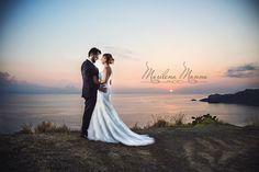 Ed è in certi sguardi che s'intravede l'infinito. www.marilenamanna.it  #wedding #love #sposi #emotion #FotoMarilenaManna #weddingphotographer #tramonto #sicilia #milazzo
