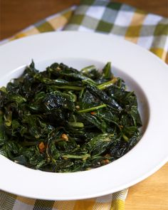 Braised southern style greens are delicious, but this faster Stir Fried Collard Greens recipe from Appetite for China gives them a whole new texture!