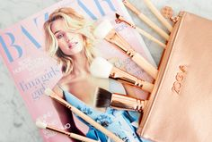 The Prettiest Makeup Brushes I Ever Did See: Zoeva Rose Golden-Luxury Vol.2   Shakespeare and Sparkle