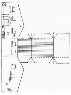Recortables de papel edificios buscar con google for Casas para dibujar