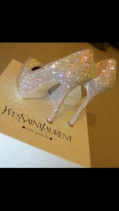 I feel I would have be on a red carpet in Cannes to wear these...