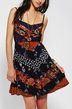 Urban Renewal Blossom Chevron Dress - Urban Outfitters ($64.00) - Svpply