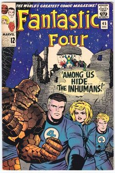 Fantastic Four # 45 , December 1965  , Marvel Comics Vol 1 1961 tumblr_nin6bjJF8C1rn55nzo1_540.jpg (540×808)