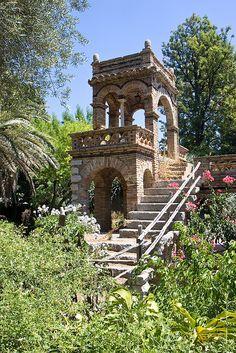 Folly in the Villa Communale, Taormina, Sicily, Italy #taormina #sicilia #sicily