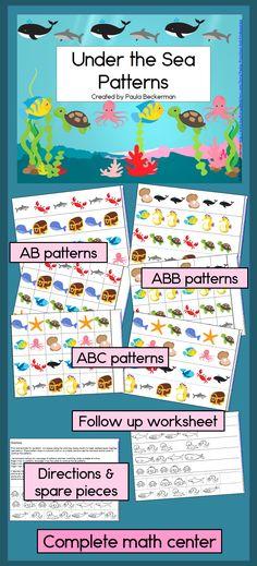 FREE Fish Preschool Printable Pack   Pinterest   Toddler preschool ...