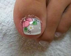 Toe Nail Art, Easy Nail Art, Toe Nails, New Nail Art Design, Nail Art Designs, Pedicure, Nail Polish, Lily, Instagram Posts