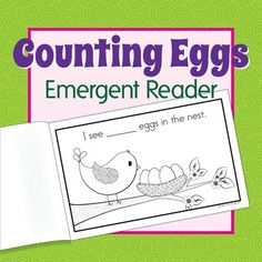 A Spring bird emergent reader for your preschool, pre-k or kindergarten class.