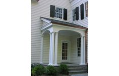 2014 center hall colonial exterior | Alisberg Parker Architects / New Residences / Center Hall Colonial