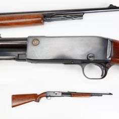Remington Model 14A Rifle - Remington's Model 14A rifle was a slide-action specially marked with a cartridge head emblem on the side of the receiver. As you can see – our example is in .35 Remington, one of four chamberings used with this model. This Remington pump was made from 1912 to 1935 and also incorporated a twisted tubular magazine to guard against primer detonation with the usage of pointed projectiles. NRA National Firearms Museum in Fairfax, Virginia