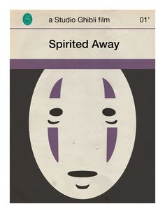 Spirited Away mini poster by 84/5 studio on Etsy