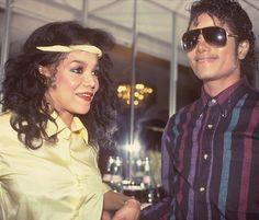 La Toya and Michael