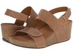 Clarks Auriel Fin Beige Leather - Zappos.com Free Shipping BOTH Ways