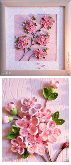 Sakura - quilling by Jullica halloween quilling Quilling Patterns, Paper Quilling, Quilling Ideas, Bday Cards, Paper Flowers Diy, Floral Design, Greeting Cards, Paper Crafts, Gift Wrapping