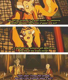 Aang: the ladies man