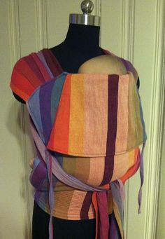 Mei Tai Wrap Conversion with Gira wrap by ellabelly, via Flickr