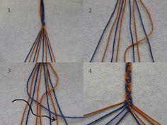 Solmukas: Saamelaisnauhat ystävännauhoiksi Handicraft, Weaving, Crafts, Color, Design, Scandinavian, Sew, Ideas, Art