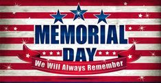 Let's honor the men and women in uniform who have given their lives in service to our country. Today we are closed for Memorial Day… Happy Memorial Day Quotes, Memorial Day Message, Memorial Day Pictures, Memorial Day Thank You, Good Work Quotes, Holiday Day, Close Today, All Holidays, God Bless America