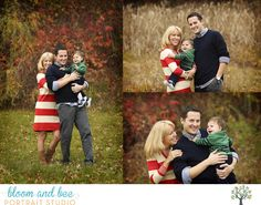 fall outdoor family session - natural light - bloom and bee portraits - albany NY