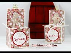 http://mychicnscratch.com/2016/09/christmas-gift-box.html Stampin' Up! US Demonstrator Angie Juda shares a project with you. To shop ONLINE please click here...