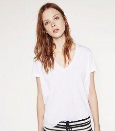 Zara Organic Cotton T Shirt