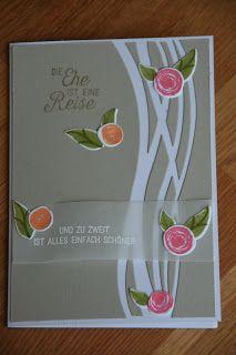 Stempelkeller: Hochzeitskarte mit Swirly Bird